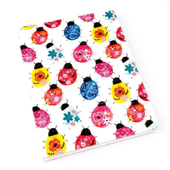 Paper Destiny Other - Paper Destiny Lively Ladybugs Fabric Journal